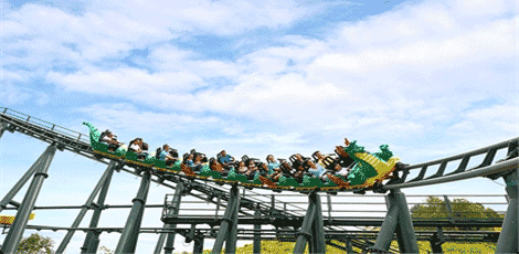 Roller-coaster-The-Dragon