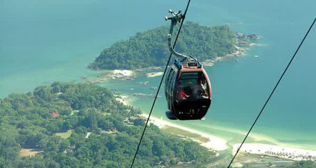 Cable Car Gunung Mat Cincang