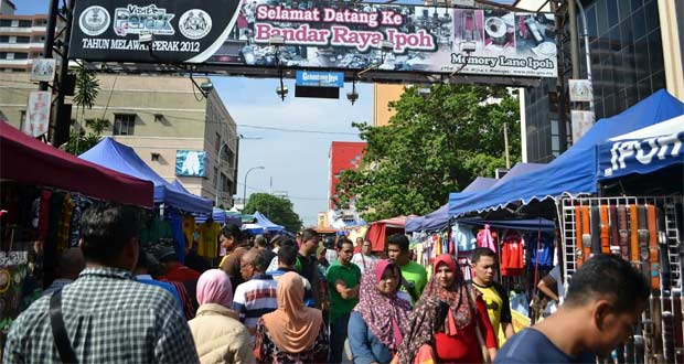 Sunday Morning Market di Memory Lane Ipoh