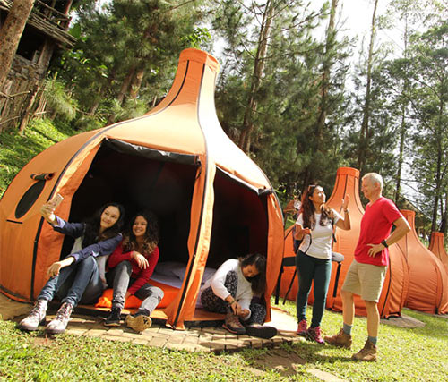 Camping Ground The Lodge Maribaya